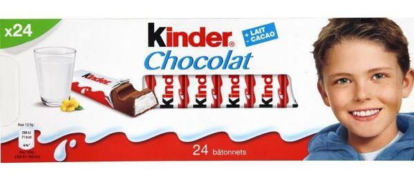шоколад Киндер опасен для детей