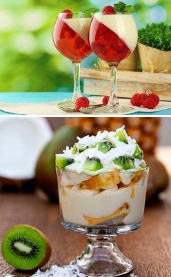 рецепты вкусных десертов с желатином
