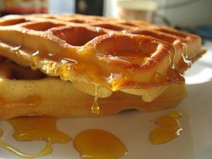 Рецепты вафель с медом