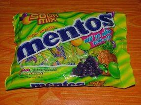 Жевательные конфеты Ментос вредны