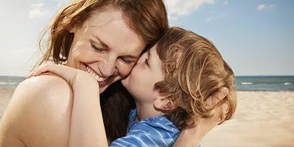 Про любовь матери к ребенку