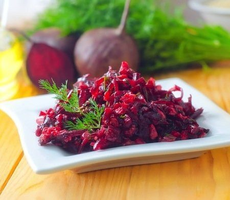 Как приготовить салат из свеклы с морковью. Простые рецепты
