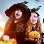Образ ведьмы и вампира для детей на Хэллоуин