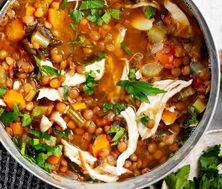 Магний в чечевичном супе