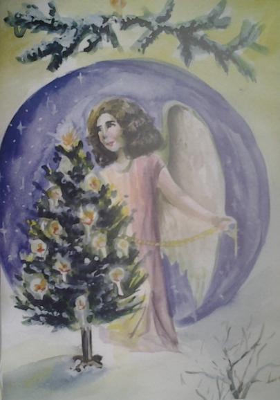 Новый год, Рождество и январь