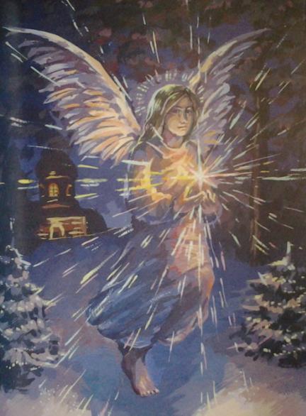 Рождество. Ангел со Звездой