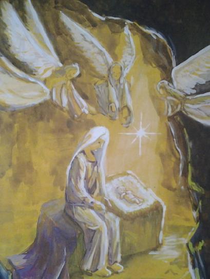 Вифлеемский Младенец родился