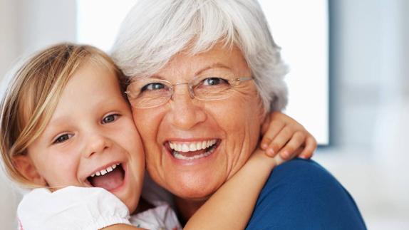 Забота бабушек в воспитании детей