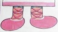 Вязки на ногах для подушки - куклы. Чем заняться дома